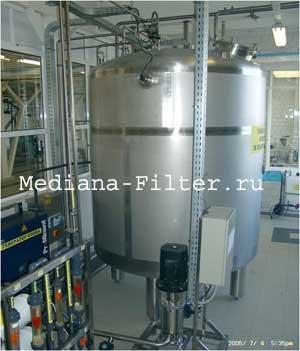 Система хранения и распределения воды для инъекций